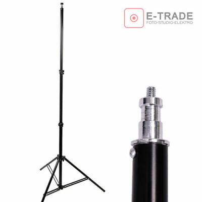 110-245cm Professional Studio SoftBox Flash Continuous Light Stand Tripod /806