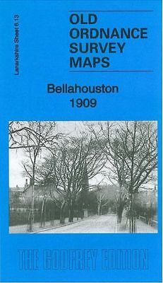 OLD ORDNANCE SURVEY MAP ALTON 1909 ANSTEY MILL AMERY ASHDELL TOWN HALL