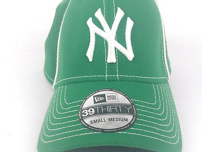 New York Yankees NY New Era 39 Thirty Green Clover MLB Baseball Hat Cap NEW 9cfeaf3be93b