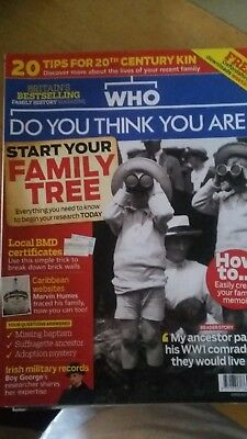 Who Do You Think You Are Magazine - August 2018 Edition