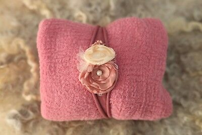 newborn photography prop wrap headband set6