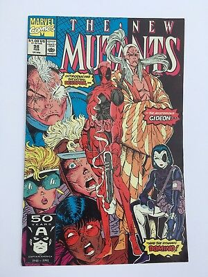 The New Mutants #98 - 1st Appearance Deadpool & Domino - Excellent Condition