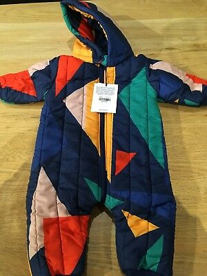 Bobo Choses Baby Winter Bundler / Snow Suit MultiColoured 12-18 Months BNWT