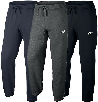 New Men's Nike Fleece Tracksuit Joggers Bottoms Track Sweat Jogging Pants Sizes