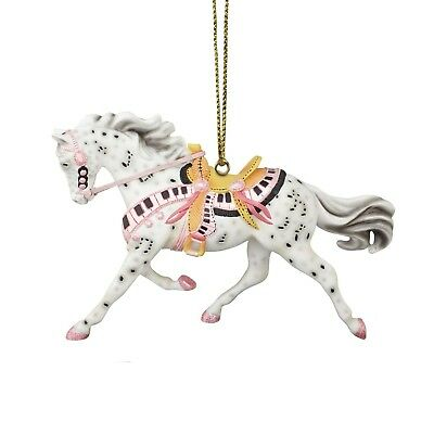 Trail of Painted Ponies Tickled Pink Ornament