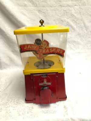 Vintage Soda Fountain Grocery Store Jaw Teasers Gumball Penny Machine