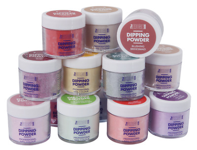 The Edge Quick Nails Acrylic Dipping Coloured Powders 15 - Colours