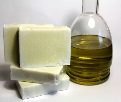 Organic Greek 100% Extra Virgin Olive Oil Shampoo SOAP for Face Body & Hair