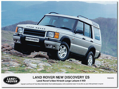 Land Rover Discovery ES Press Release Photograph