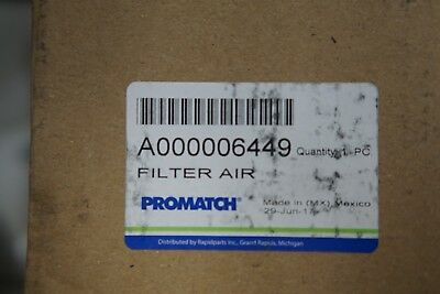 PROMATCH A000006449 Qty 1 Replaces DONALDSON P535770 Air Filter