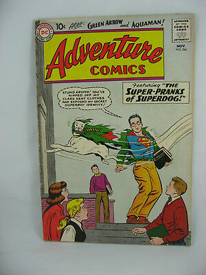Adventure Comics 266 F+ 1959 1St Aquagirl