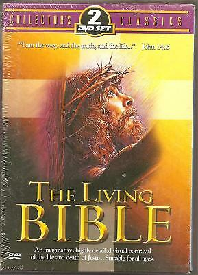 The Living Bible -DVD- Brand New & Sealed-Fast Ship! OD-052