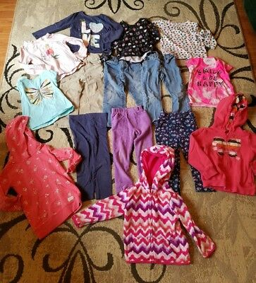 Girls 3t Clothes Lot Fall Winter