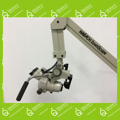 Wallach Zoomscope Colposcope on Rolling Stand