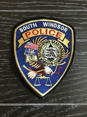 South Windsor Ct Connecticut Police Department Officer Patch Current Issue