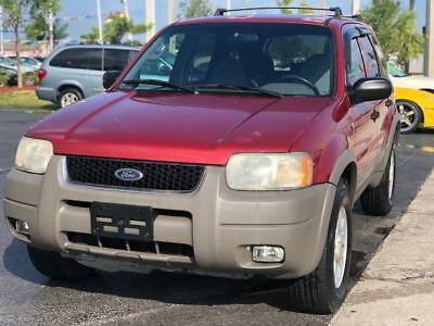 2001 Ford Escape  2001 Ford Escape XLT 4WD 4dr SUV 3.0L V6 Automatic 4X4 Drives Great FLORIDA L@@K
