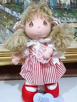 Vintage Precious Moments Valentine's Day Edition Doll 1991 w/Tags So Adorable!