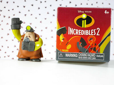 Disney Pixar Incredibles 2 Mini Supers Collectible Figure Mystery Box - The Unde