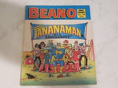 BEANO COMIC LIBRARY 38 1983 Bananaman in It's a Knockabout dandy topper beezer