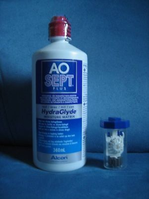 Alcon AOSEPT plus mit HydraGlyde- 360ml