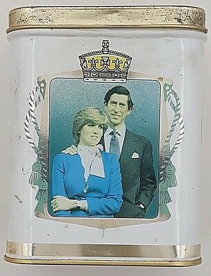 Vintage Diana & Charles Tin - Made in England - Collectible