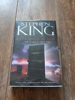 Stephen King Dark Tower 2 The drawing of the three. 1st US 2003 edition