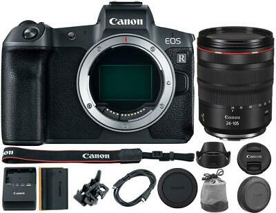 Canon EOS R Mirrorless Digital Camera with 24-105mm RF Lens