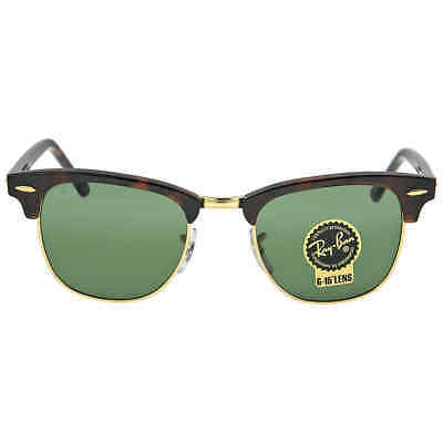 8dd1e5737aed5a Ray Ban Clubmaster Tortoise 49 mm Sunglasses RB3016-W0366-49 RB3016 W0366  49-