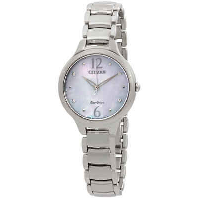 Citizen L Crystal Mother of Pearl Dial Ladies Watch EM0550-59D