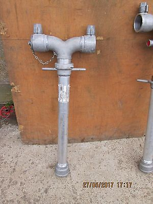 Double - Swivel Stand Pipe - New Unused - With Female Coarse Thread At Base