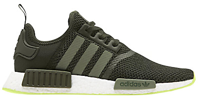 339dcfc10e16a adidas Originals NMD R1 Men s Night Cargo Base Green Semi Frozen Yellow  CQ2414
