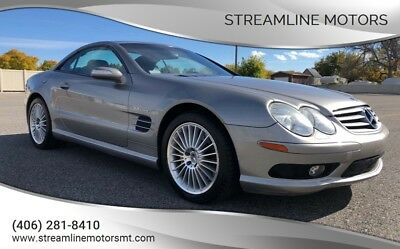 2004 Mercedes-Benz SL-Class SL55 AMG 2004 Mercedes Benz SL55 AMG Supercharged with Panoramic Glass Top