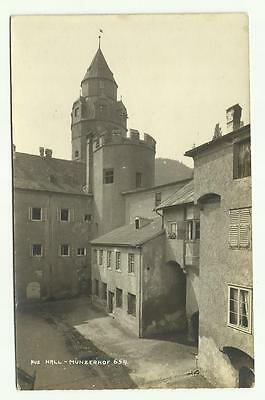 Munzerhof Hall, Austria old postcard