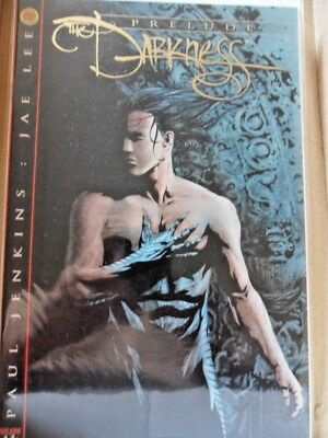 The Darkness prelude DF exclusive gold foil B cover