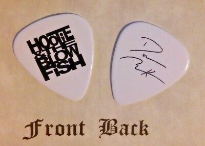 HOOTIE AND THE BLOWFISH - DARIUS RUCKER band Signature Logo guitar pick -(S)