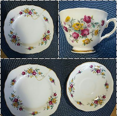 Colclough bone china tea set made in England by Ridgway Potteries Ltd Patt 8231