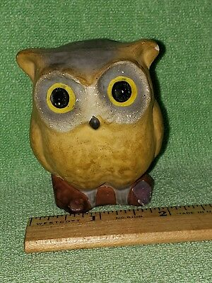 Vintage Halloween Owl Candy Container