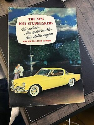 1954 Studebaker Full Line Sales Brochure