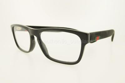 a0c225836371 Gucci Gg0174O 005 56Mm Gg0174/o Black Frame With Clear Demo Lenses Authentic