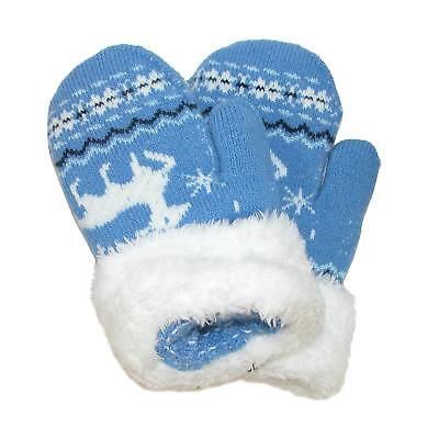 New CTM Toddlers' Mittens with Cuff