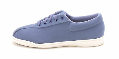 Easy Spirit Womens ap2 Low Top Lace Up Fashion Sneakers, med blue, Size 8.0 4JUf