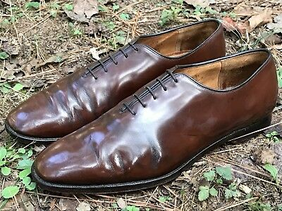 CHURCH'S Mens Vintage Brown Oxford Dress Shoes size 11 US  10 UK Made In England
