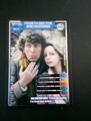 Doctor Who Monster Invasion Ultimate Card The Fourth Doctor And Romana 350