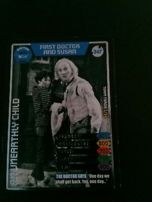 Doctor Who Monster Invasion Ultimate Card  The First Doctor And Susan
