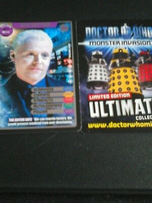 Dr who monster invasion ultimate card number 370 the editor