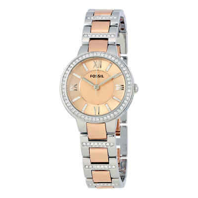 19241c3329d1 FOSSIL VIRGINIA ROSE Dial Two-tone Ladies Watch ES3405 -  61.23 ...