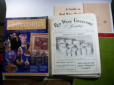 Collectible Market Guide & Pricing 16th Edition & Red Wing Collectors Newsletter