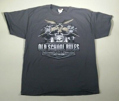 Harley Davidson Men Tshirt L Maui Hawaii