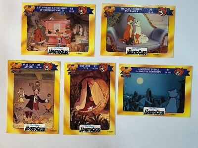 Disney Classics Walt Disney The Aristocats Australian Trading Card 90s Lot