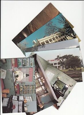 Lot of 7 Coffeyville KS Kansas Vintage Postcards Montgomery County Brown Mansion